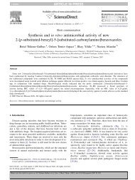 Synthesis and in vitro antimicrobial activity of n - Esisresearch.org