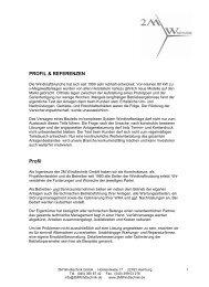 PROFIL & REFERENZEN Profil - 2mwindtechnik.de