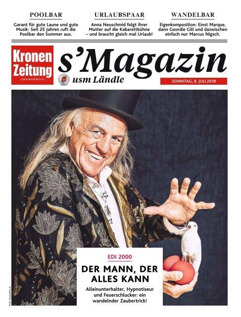s'Magazin usm Ländle, 8. Juli 2018
