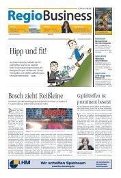 RegioBusiness Nr. 193 - 07/2018