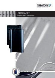"""""""SINFONIE®"""" - Creaton AG"""