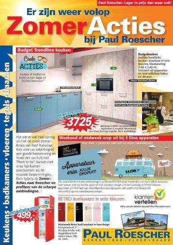 Paul Roescher Zomeracties 2018