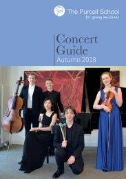 Concert Guide Autumn 2018