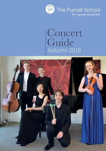 Concert Guide Autumn 2018