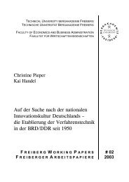 03/02 - Fakultät 6 - TU Bergakademie Freiberg