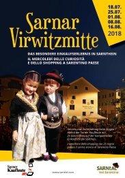 Sarner Vierwitzmitte 2018