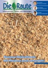 Biomasse-Heizkraftwerk: Mit Pfleiderer ernst verhandeln! - CSU ...