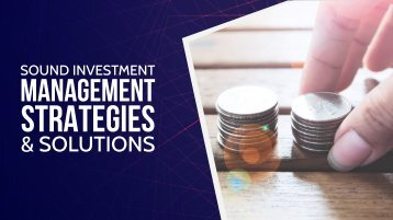 Compress Sound Investment Management Strategies & Solutions
