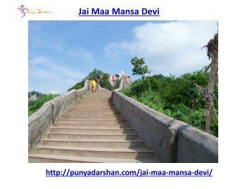 Jai Maa Mansa Devi