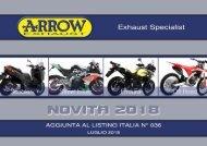 Arrow - nuovi prodotti Luglio 2018