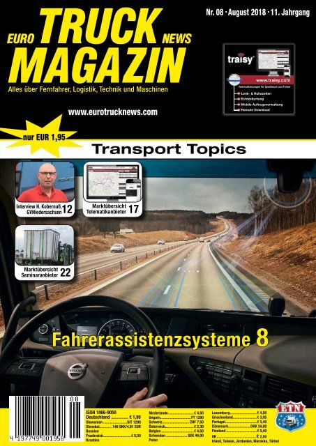Euro Truck News Digital Nr. 08/2018
