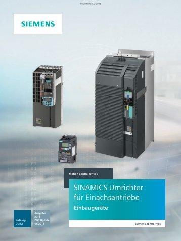 SIEMENS_KatalogD31.1_Sinamics-Umrichter-fuer-Einachsantriebe_06-2018_DE