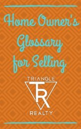 The Seller's Glossary