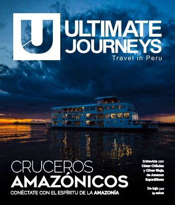 UJ #16 - Cruceros Amazónicos