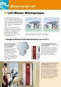 Mit Umweltenergie Kosten sparen. Wärmepumpen - Page 4
