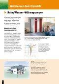 Mit Umweltenergie Kosten sparen. Wärmepumpen - Page 6
