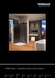 FORMAT Design – Duschabtrennungen für jeden ... - Hubert Schmitz