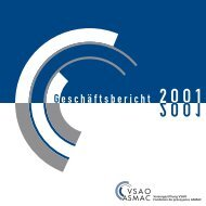 Jahresrechnung / Betriebsrechnung per 31. Dezember 2001