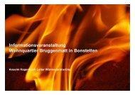 Präsentation Infoabend AEW Energie AG Aarau