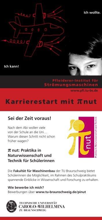 Karrierestart mit πnut - Technische Universität Braunschweig