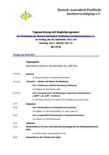 Deutsch-Australisch-Pazifische Juristenvereinigung e.V.