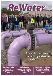 Spring 2011 - Recycled Water