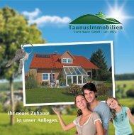 Ihr neues Zuhause ist unser Anliegen. - Luzie Baatz Immobilien GmbH