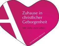 Zuhause in christlicher Geborgenheit - AGAPLESION BETHANIEN ...