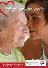 Pflege der Altersseele. - AWO Rheinland