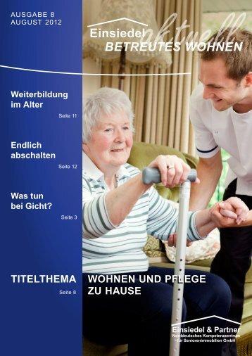 TiTelThema Wohnen und PfleGe zu hause Wohnen und PfleGe zu ...