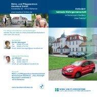 Wohn- und Pflegezentrum Havelland GmbH - Havelland Kliniken ...