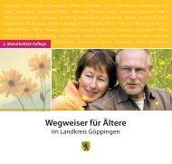 Wegweiser für Ältere - Landkreis Göppingen