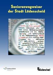 Seniorenwegweiser der Stadt Lüdenscheid