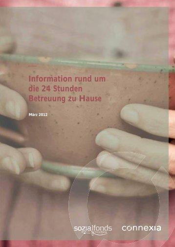 Informationen rund um die 24 Stunden Betreuung zu - Vorarlberg