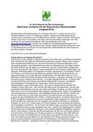 Naturland Landwirte mit der Bayerischen Staatsmedaille ...