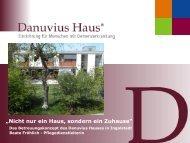 Nicht nur ein Haus, sondern ein Zuhause - Hospizverein Pfaffenhofen