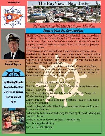 Dec Web.pub - Bay View Yacht Club