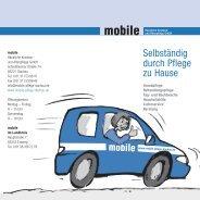 Selbständig durch Pflege zu Hause - mobile Häusliche Kranken ...