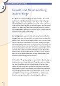 Pflege zuhause – Schutz vor Gewalt, Betrug und Pflegefehlern - Seite 6