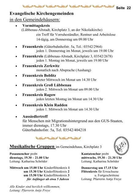 Seite 22 Evangelische