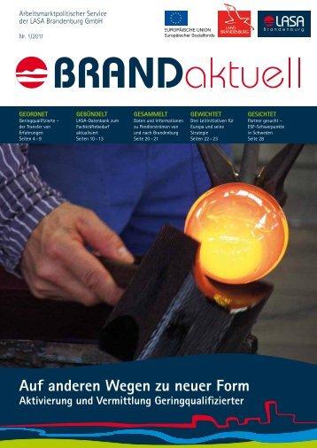 Nr. 1/2011 (PDF) - LASA Brandenburg GmbH