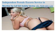 Vip independent escort in Mumbai
