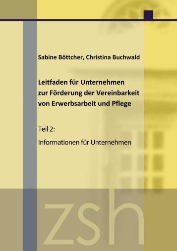 Sabine Böttcher, Christina Buchwald Leitfaden für Unternehmen zur ...