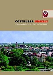 Fakten und Zahlen aus der Arbeit des Umweltamtes - Cottbus