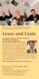 cOTTBUSER LESEhERBST - Bibliothek Cottbus - Seite 2