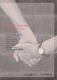 Unterstützung der Pflege zu Hause - Bericht über die - Vorarlberg