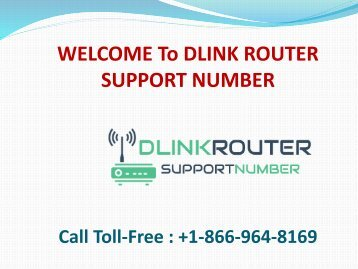 Dlink Router Support Number