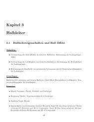 Kapitel 3 Halbleiter