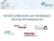 Aktiv Treuhand - PH Networks AG