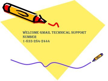 How To Recover Your Gmail Glitches Contact 1-833-284-2444 Gmail Help Phone Number